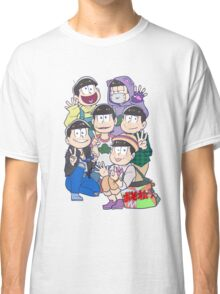 Six Same Faces - Osomatsu-san Classic T-Shirt