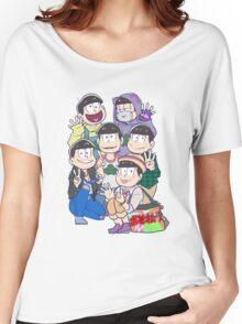 Six Same Faces - Osomatsu-san Women's Relaxed Fit T-Shirt