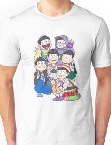 Six Same Faces - Osomatsu-san Unisex T-Shirt