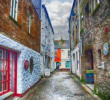 Jetty Street Mevagissey by Chris Thaxter