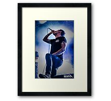 Parkway Drive - Winston McCall Framed Print