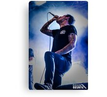 Parkway Drive - Winston McCall Canvas Print