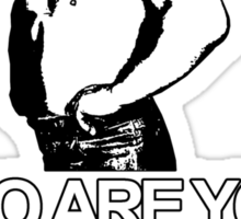 NOBODY DOUBTS EL DANDY Sticker