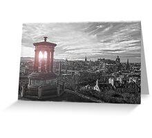 Edinburgh Isolation Greeting Card