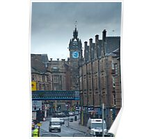 Tolbooth Steeple at Glasgow Cross Poster
