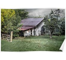 """This Old Barn is """"Stayin Alive"""" Poster"""