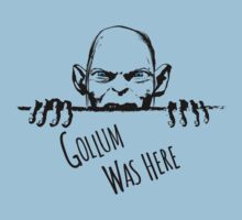 Gollum was here Kids Tee