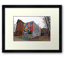 ILNY Graffiti Framed Print