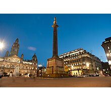 george square central glasgow Photographic Print