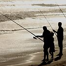 Gone Fishing by john  Lenagan