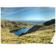 Above Levers Water Poster