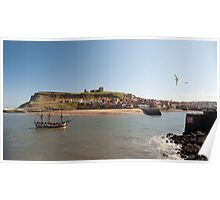 whitby tall ship pleasure cruise Poster