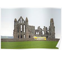 whitby abbey tour bus Poster