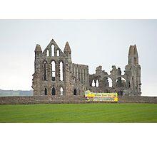 whitby abbey tour bus Photographic Print