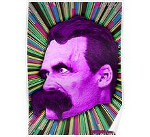 Nietzsche Burst 2 - by Rev. Shakes Poster