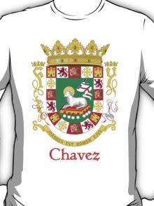 Chavez Shield of Puerto Rico T-Shirt