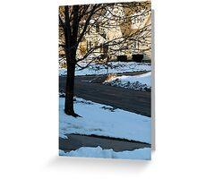 Snow in the Neighborhood Greeting Card