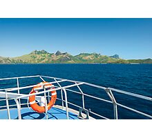 Fiji Island Transfer Photographic Print