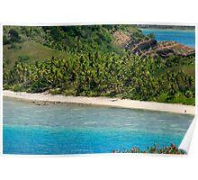 Yasawas beach, Fiji Poster