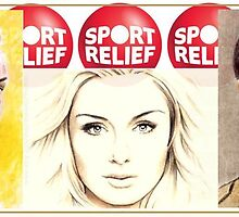 Sport Relief sketchcard auctions by wu-wei
