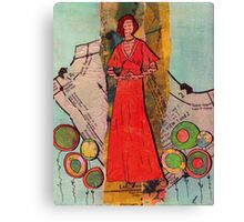 Paper Doll 3 Canvas Print