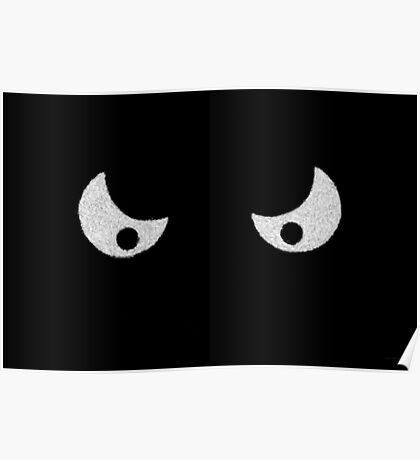 Eyes - In the dark Poster