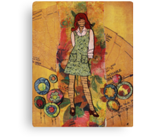 Paper Doll 4 Canvas Print