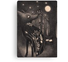 Howlite Canvas Print