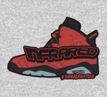 Infrared 6's Red Kids Tee