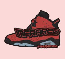 Infrared 6's Red One Piece - Short Sleeve