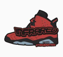 Infrared 6's Red Kids Clothes