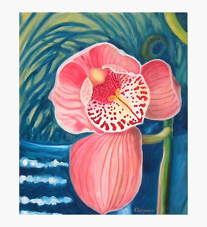 Lonely orchid Photographic Print