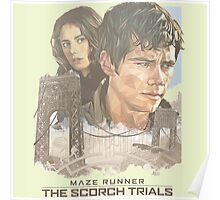 maze runner the scorch trial Poster