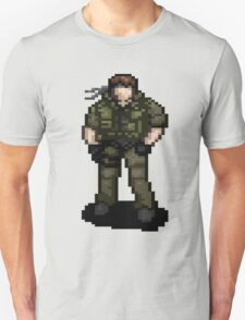 Solid Snaking Metal Gear Unisex T-Shirt