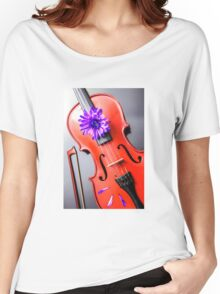 Artistic Violin Women's Relaxed Fit T-Shirt