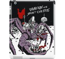 Attack of the Soviet Crab Riders! iPad Case/Skin