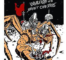 Attack of the Soviet Crab Riders! (Orange) by LJUDD