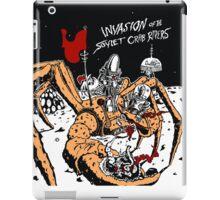 Attack of the Soviet Crab Riders! (Orange) iPad Case/Skin