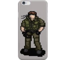 Solid Snaking Metal Gear iPhone Case/Skin