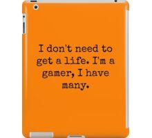 Many Lives iPad Case/Skin