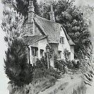 Devon cottage. by Robert David Gellion