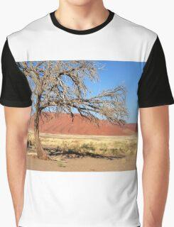 Tree and Dune, Sossusvlei, Namibia Graphic T-Shirt