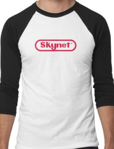 Skynet Entertainment System Men's Baseball ¾ T-Shirt