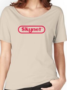 Skynet Entertainment System Women's Relaxed Fit T-Shirt