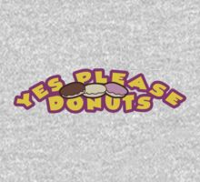 YES PLEASE DONUTS!, Art inspired by Titanfall Kids Tee