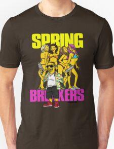 Simspon'ized Spring Breakers T-Shirt