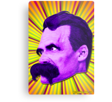Nietzsche Burst 4 - by Rev. Shakes Metal Print