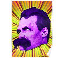 Nietzsche Burst 4 - by Rev. Shakes Poster