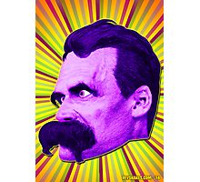 Nietzsche Burst 4 - by Rev. Shakes Photographic Print