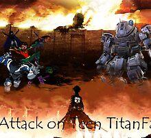 Attack on Teen TitanFall by cornnyman